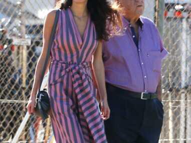 Amal Clooney, hippie chic sur le tournage de son mari