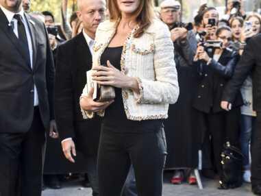 Paris Fashion Week - Carla Bruni chez Chanel
