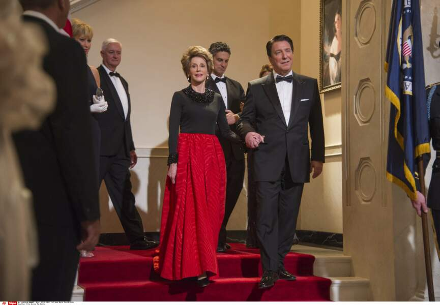 Dans Le majordome, en 2013, Alan Rickman joue Ronald Reagan et Jane Fonda Nancy Reagan.