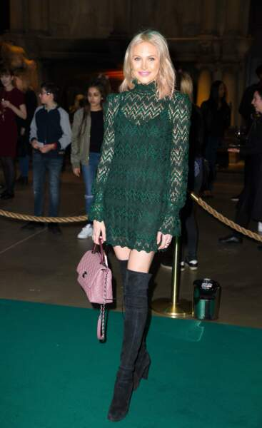 Stephanie Pratt, pour la sortie du film Harry Potter et forêt interdite, Londres