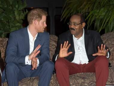 Le prince Harry à Antigua