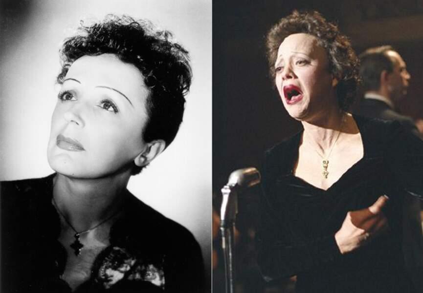 Marion Cotillard se grime pour devenir Edith Piaf