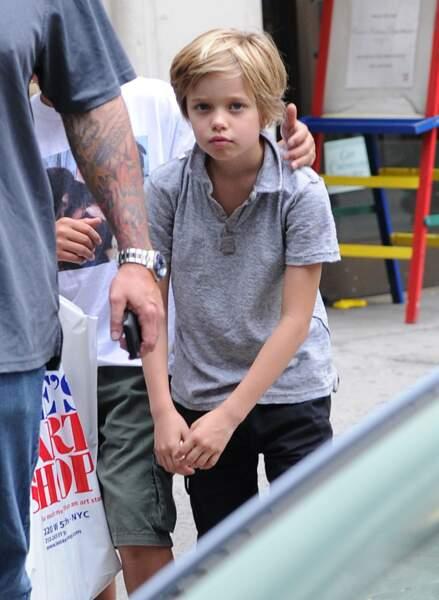 Shiloh Jolie-Pitt, dans les rues de New York, en mai 2014