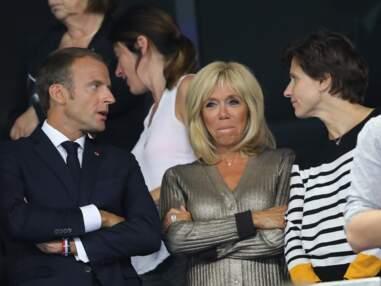 PHOTOS - Brigitte Macron sort le grand jeu pour le match des Bleus avec un look bling-bling