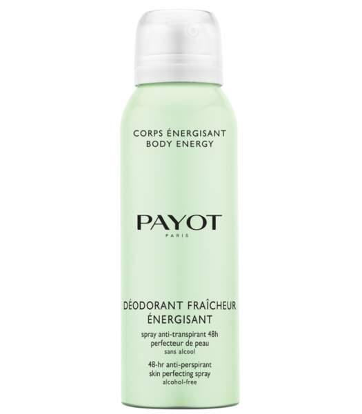 Déodorant fraîcheur énergisant de Payot