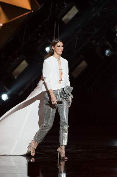 Iris Mittenaere aux Victoires de la Musique le 9 février 2018