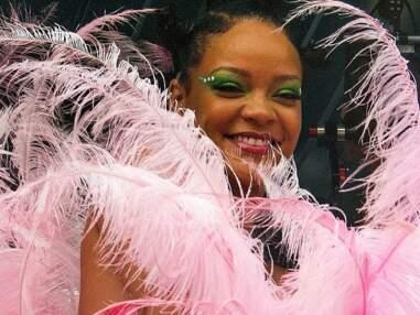PHOTOS - Rihanna dans un look spectaculaire au carnaval de la  Barbade