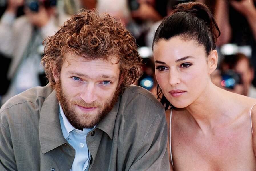 Vincent Cassel et Monica Bellucci au Festival de Cannes en 2002