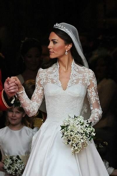 Kate Middleton - Alexander McQueen, 340 000 euros
