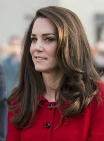 Le brushing aérien de Kate Middleton