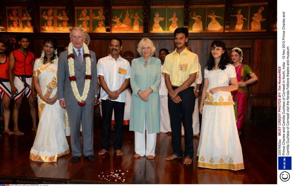 Visite bien encadrée pour le prince Charles et Camilla
