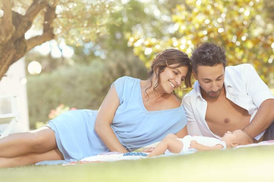 Laetitia Milot, Badri et leur fille Lyana plus heureux que jamais