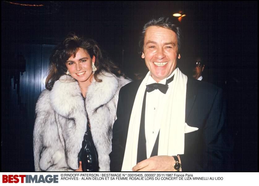 Alain et et Rosalie Delon