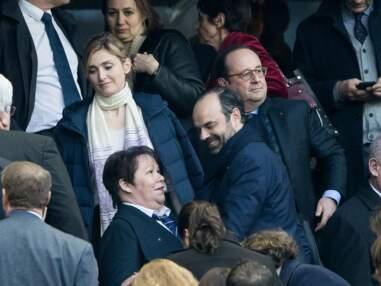PHOTOS – François Hollande et Julie Gayet, amoureux au stade de France