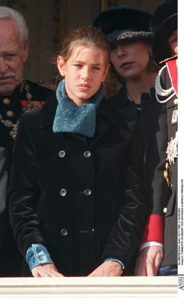 Au cours de la fête nationale à Monaco, en 1998.