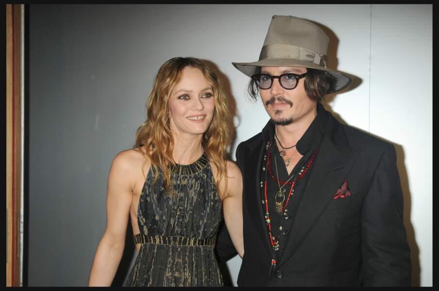 Vanessa Paradis et Johnny Depp au Festival de Cannes en 2016
