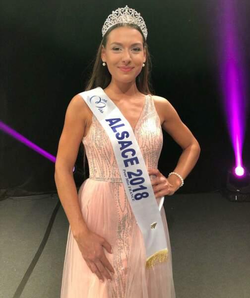 Léa Reboul, 22 ans, a été sacrée Miss Alsace et tentera de devenir Miss France 2019