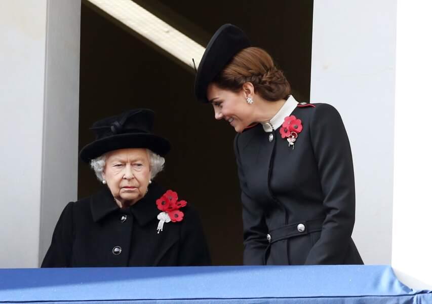 Kate Middleton et son chignon bas sophistiqué