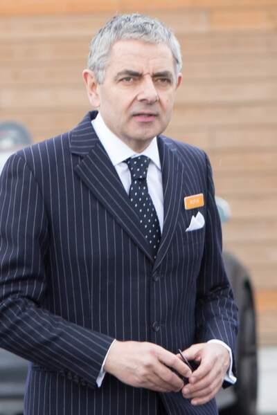 Rowan Atkinson célèbre pour son rôle dans la série Mr Bean