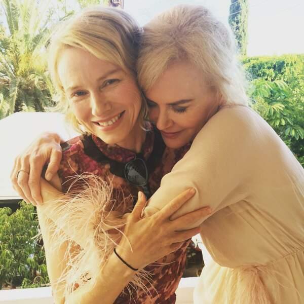 La belle déclaration d'amitié de Naomi Watts à Nicole Kidman, en juillet 2017