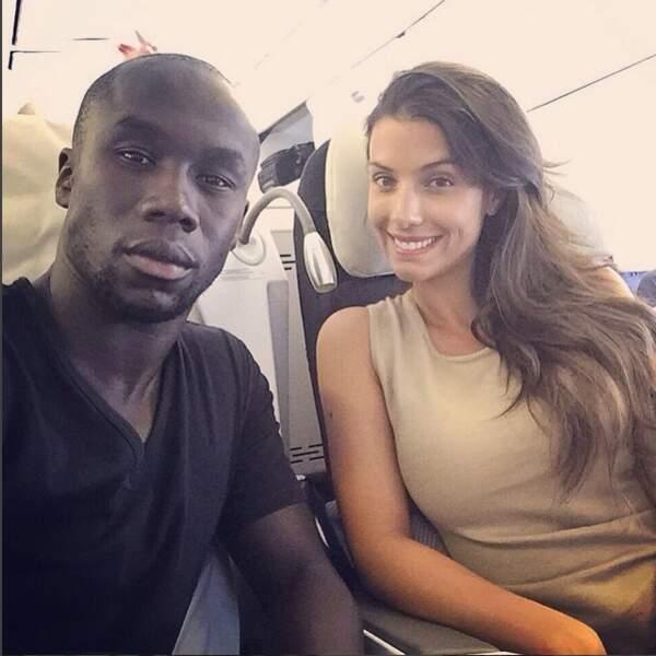 Bacary Sagna et sa femme Ludivine