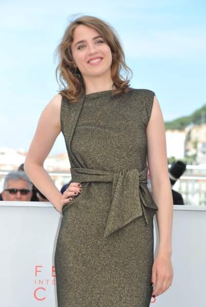 Adèle Haenel lors du photocall de La Fille Inconnue