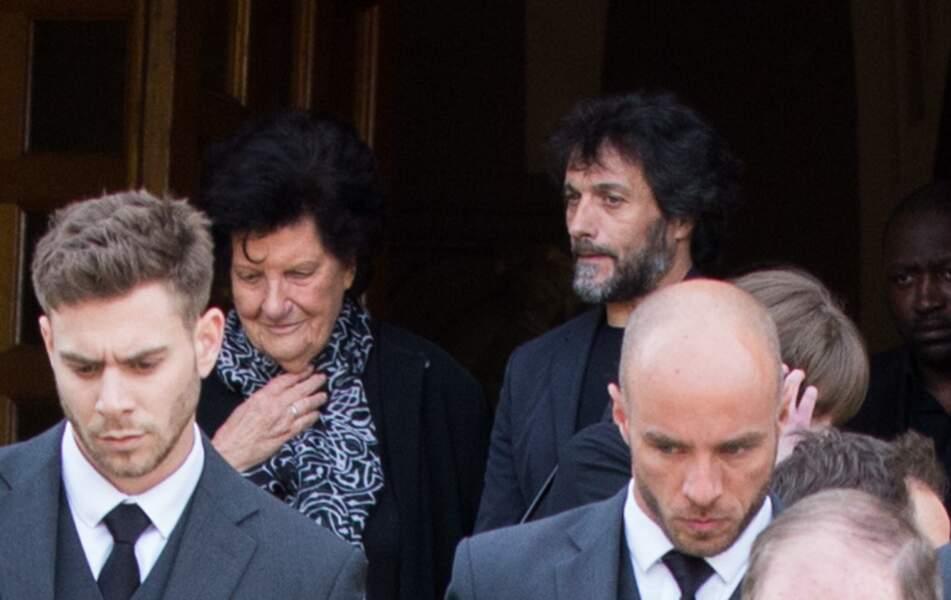Pablo Villafranca (ex compagnon de Maurane) et la mère de Maurane