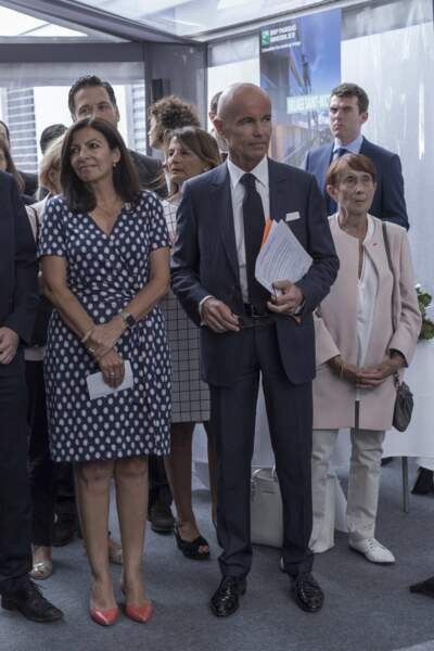 Anne Hidalgo et Thierry Laroue-Pont
