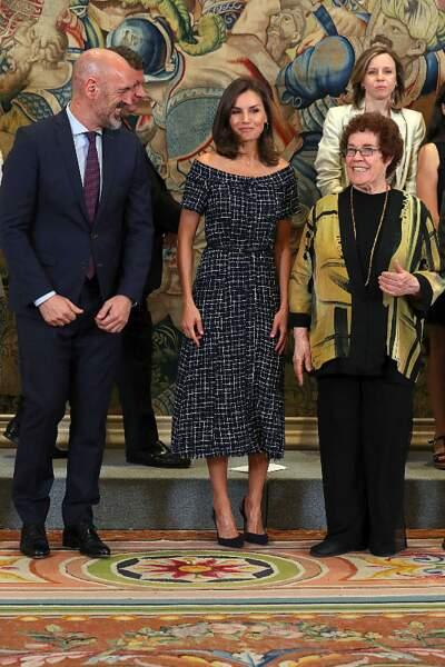 Avec ce look, Letizia d'Espagne a rendu hommage à Kate Middleton