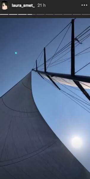 Le soleil est rendez-vous pour les vacances de Laura Smet en Grèce