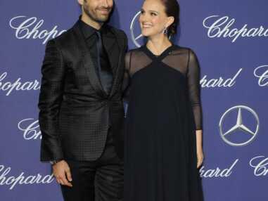 Natalie Portman, très enceinte et amoureuse au bras de son mari Benjamin Millepied