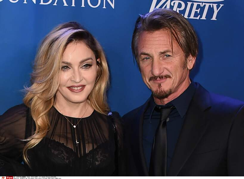 Madonna et Sean Penn à Beverly Hills en 2016