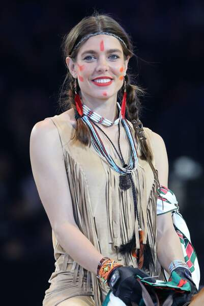 Charlotte Casiraghi dans le cadre du Gucci Paris Masters 2012 à Paris Villepinte, le 1er Décembre 2012.