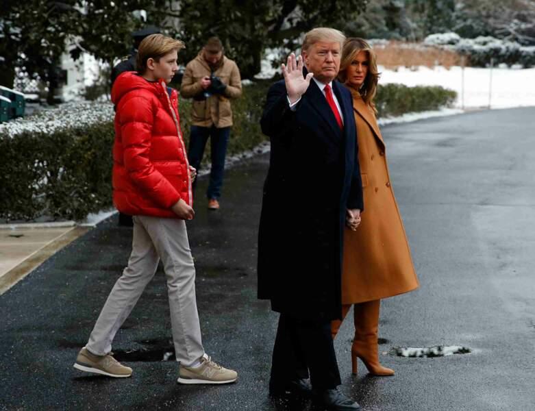 Le 17 janvier, Melania Trump avait déjà utilisé un jet présidentiel pour rejoindre Mar-a-Lago