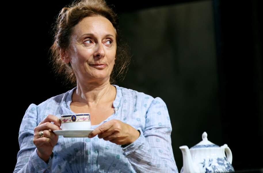 """Josiane Stoléru en 2007 au théâtre de l'Atelier, à Paris, durant la représentation de """"Van Gogh à Londres"""""""