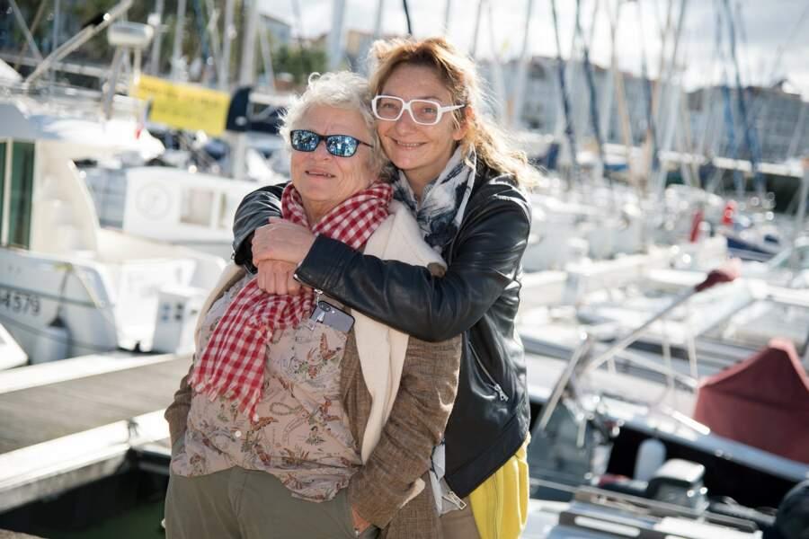 Le Capitaine Marleau (alias Corine Masiero) ici avec Josée Dayan