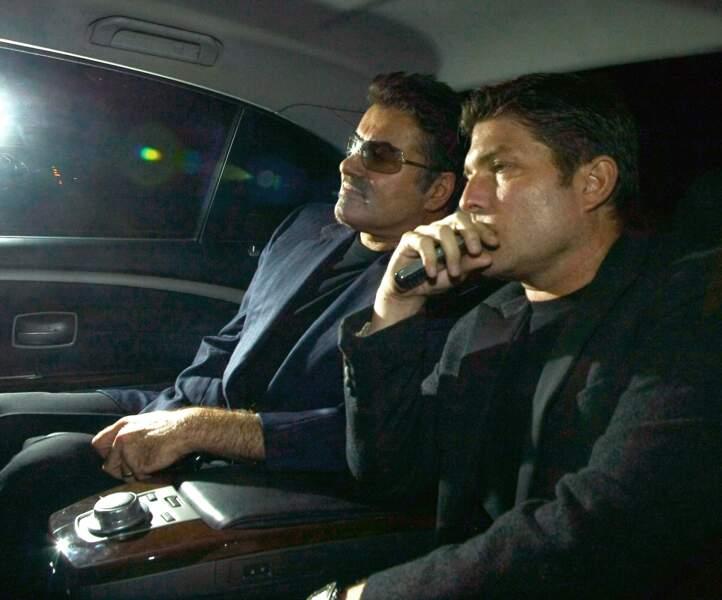 2009: George et Kenny, quelques semaines avant leur rupture décidée par le second et mal vécue par le premier.