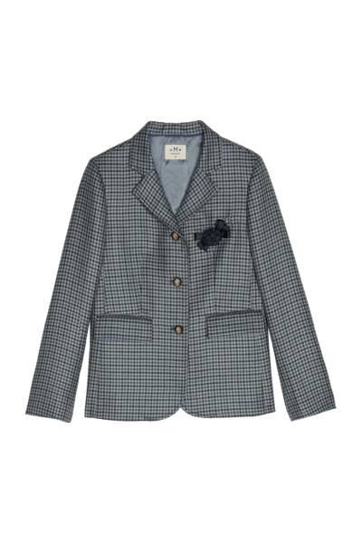 Classique, veste de blazer en tweed, 440 € (DMN).