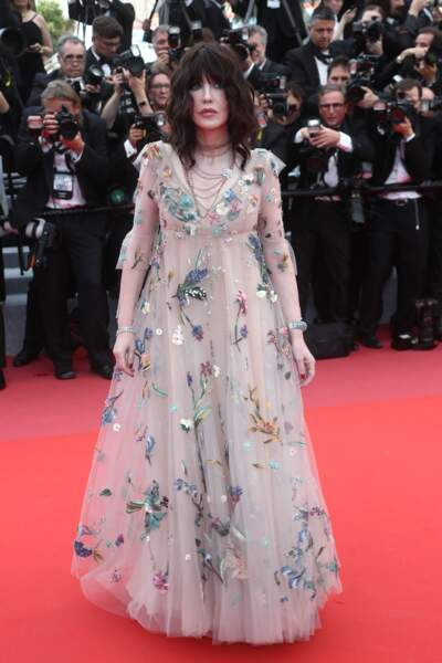 Isabelle Adjani, le 8 mai 2018 pour la cérémonie d'ouverture du festival de Cannes