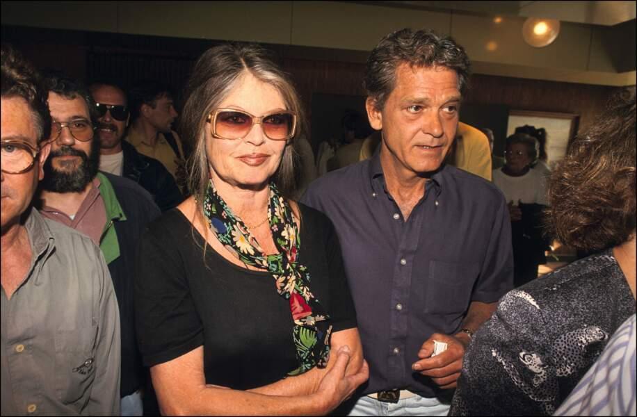Brigitte Bardot et Bernard D'ormale 1994