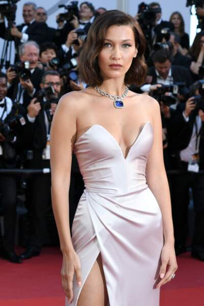 Bella Hadid lors du 70ème Festival International du Film de Cannes