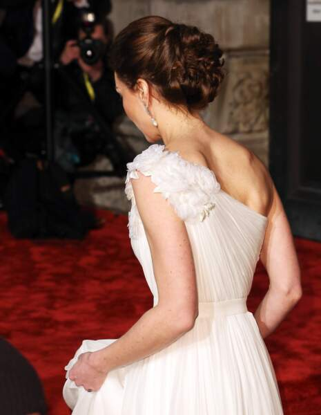 Kate Middleton est apparue ultra glamour à la 72ème cérémonie des BAFTA aux côtés du prince William