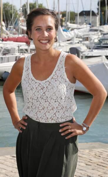 Julie de Bona lors du Festival de la Fiction TV de La Rochelle le 16 septembre 2016