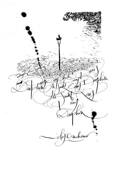 Vue de Paris, Nicolas Ouchenir pour Darphin