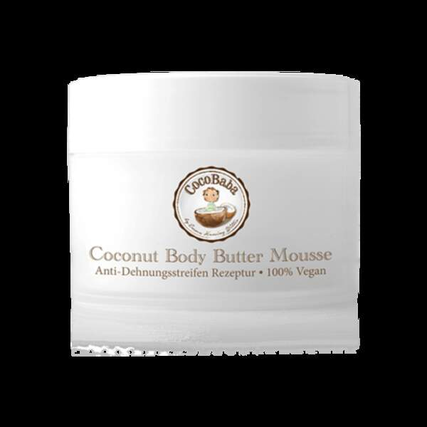 Coconut Body Butter Mousse, CocoBaba