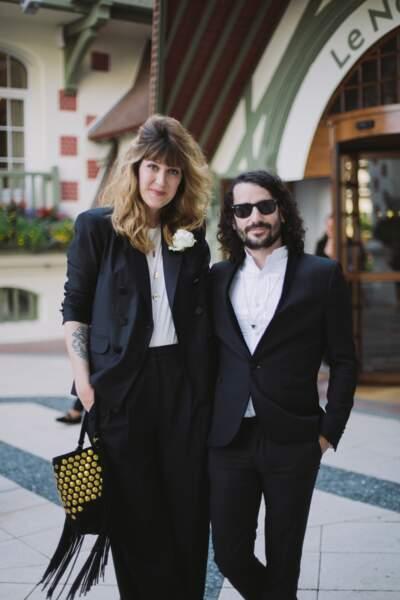 Daphné Bürki et Gunther Love