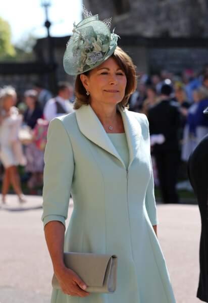 Carol Middleton, la mère de Kate Middleton