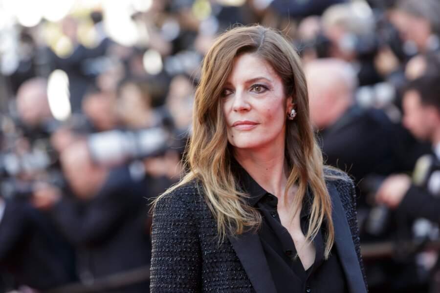 Chiara Mastroianni (45 ans) sur le tapis rouge du 71ème Festival de Cannes.