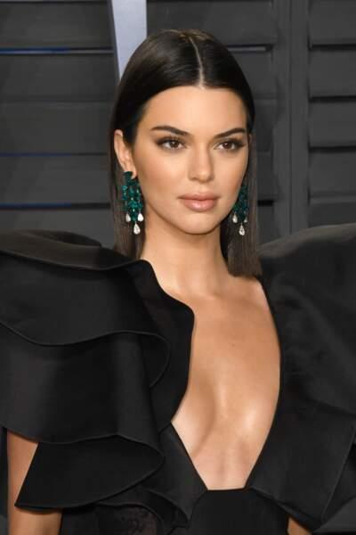 Un carré ultra lisse comme Kendall Jenner