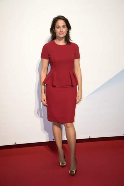 """Marie Gillain, qui présente à La Rochelle """"Souviens-toi"""", la prochaine série d'M6"""